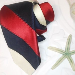 GIVENCHY GENTLEMAN Couture Stripe Vintage Mens Tie